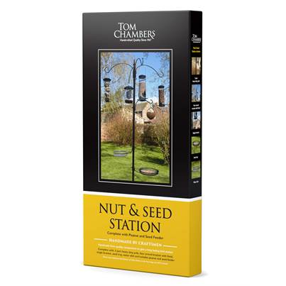 Tom Chambers Nut & Seed Bird Feeding Station