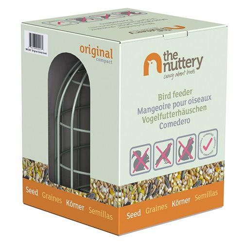 Nuttery Original Compact Seed Feeder - Nuttery