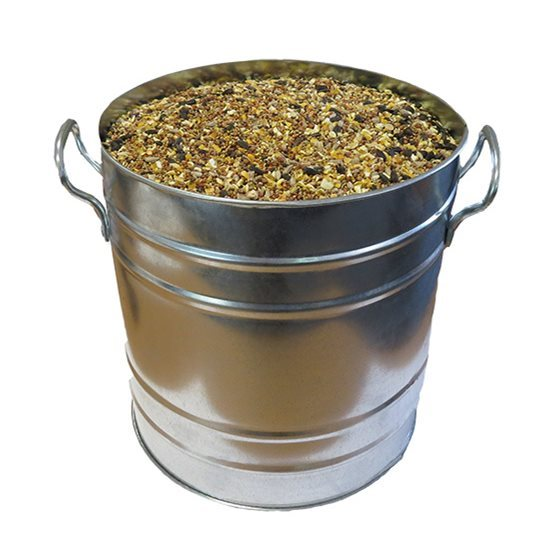 Image for Metal Bird Seed Bins