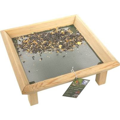 CJ Wildlife Wooden Bird Feeder Table
