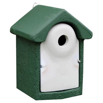 CJ Wildlife Woodstone Nest Bird Box 32mm
